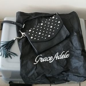 Grace adele studded crossbody